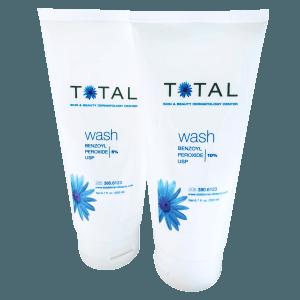Total Skin & Beauty Benzoyl Peroxide Wash 5% / 10%