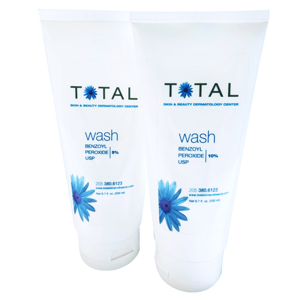 Total Skin & Beauty Benzoyl Peroxide Wash 5% / 10%