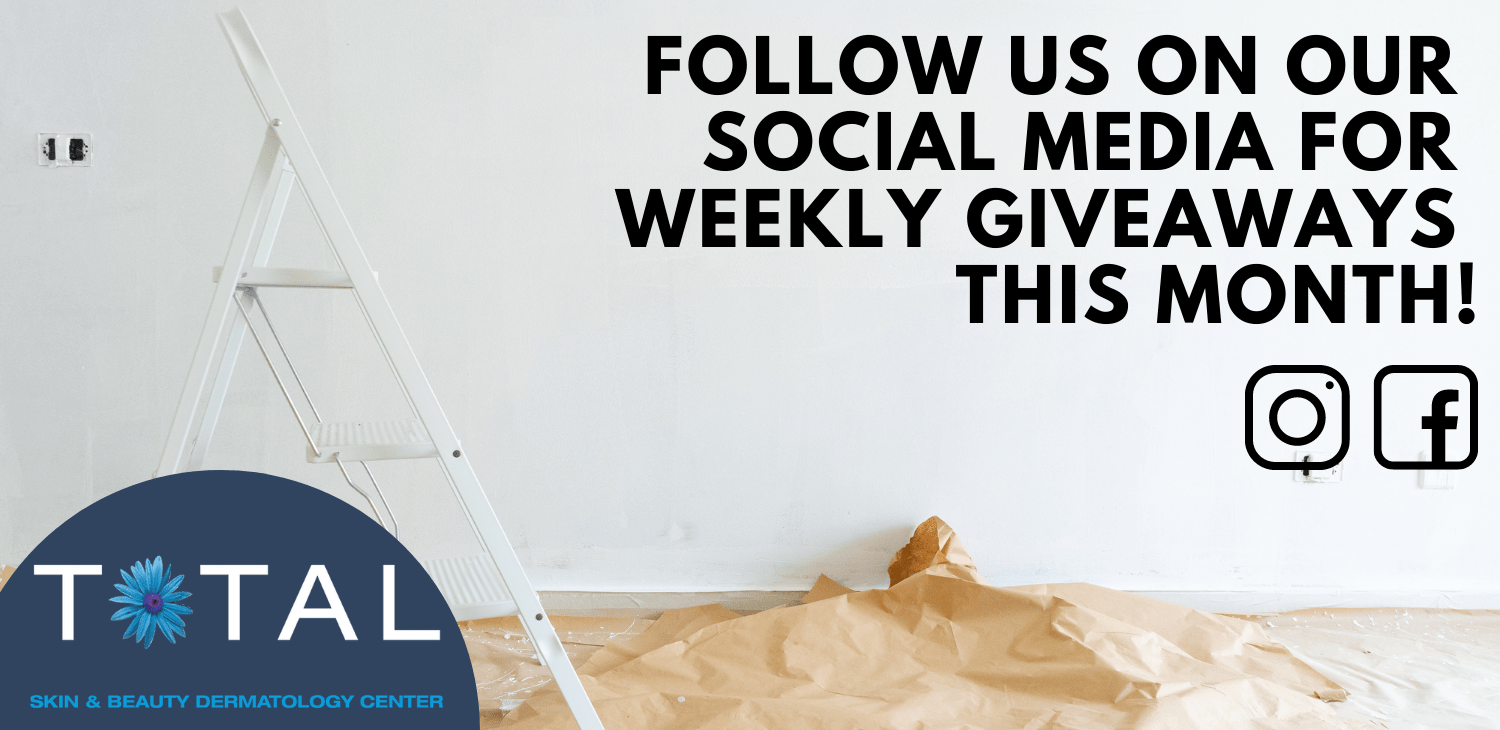 FOLLOW US ON SOCIAL MEDIA FOR WEEKLY GIVEAWAYS THIS MONTH!